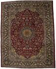 Traditional Vintage Red 10X12 Najafabad Oriental Area Rug Living Dining Carpet