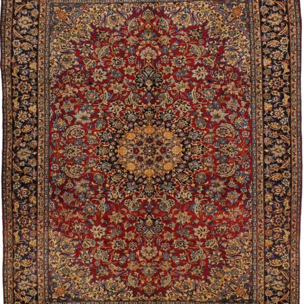Vintage Najafabad Traditional Classic 10X13 Oriental Large Area Rug Wool Carpet