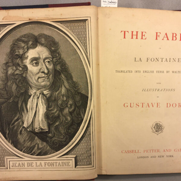 The Fables of La Fontaine Illustrations by Gustave Dore Publ. by Cassell Petter