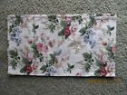 Linens & Textiles Vintage Waverly Cotton Curtains 2 Panels Beige withFlowers New