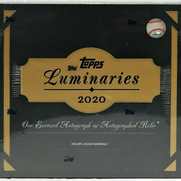 2020 TOPPS LUMINARIES BASEBALL FACTORY SEALED HOBBY BOX