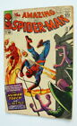 1965 AMAZING SPIDER MAN ISSUE #21 COMIC BOOK w HUMAN TORCH & THE BEETLE COMPLETE