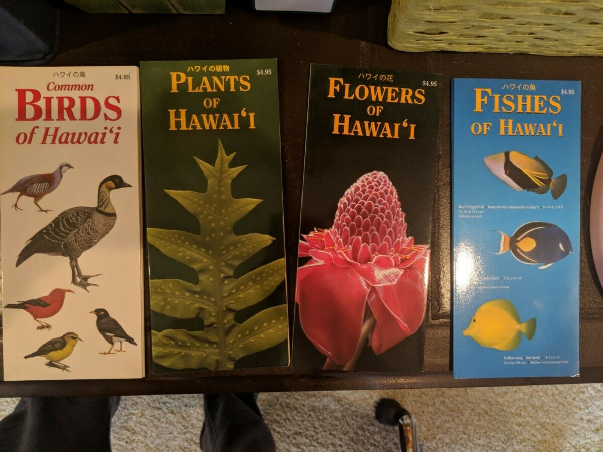 Hawaii guides birds plants fishes flowers