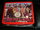 THE BEATLES SGT. PEPPERS LONELY HEARTS CLUB BAND EMBOSSED LUNCHBOX 1999 NEW