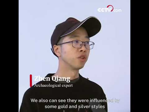 Newly unearthed relics help retrace Silk Road legacy  CCTV English