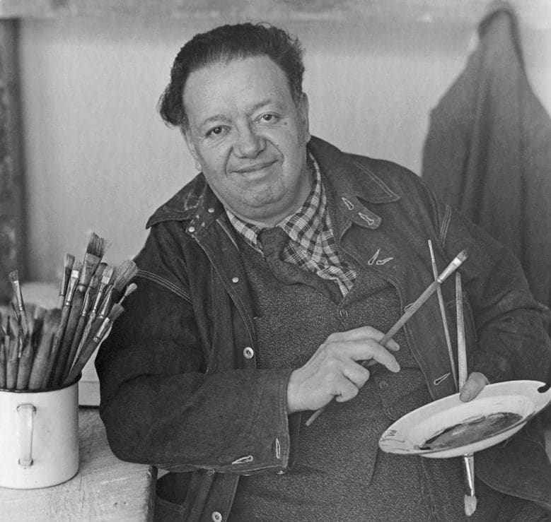 Mexican Artist Diego Rivera's Work on the Rise